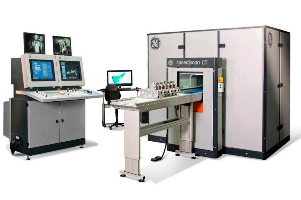 Contrôle en ligne par tomographie pour la santé interne et le contrôle dimensionnel des pièces industrielles