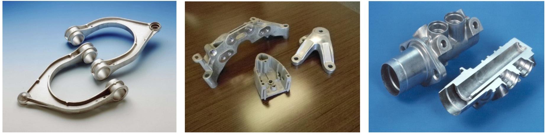 Pièces en aluminium obtenues par procédé d'injection en phase semi-solide
