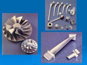 Exemples de pièces de fonderie cire perdue