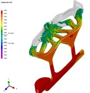 Simulation numérique du remplissage (code QuikCAST)