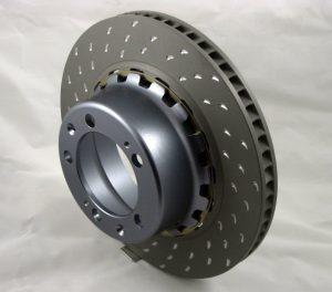 Disque de frein en CMM aluminium