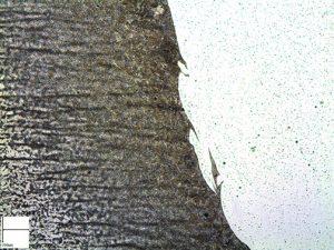 ZAT de l'acier de construction avec vagues de dilution