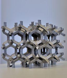 Mousse d'aluminium de grande taille (taille de pore de 70 mm)