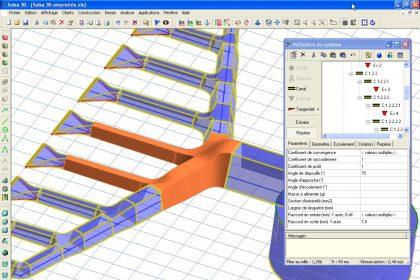 Salsa3D - logiciel de conception.