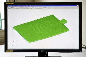 CAO de la tablette Idalion (après Scan3D)