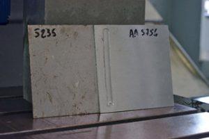 FSW - assemblage multimatériaux - acier S235 avec aluminium AA5754