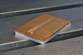 FSW - assemblage multimatériaux - cuivre et aluminium