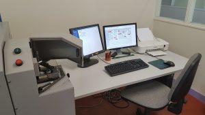 Pilotage et visualisation des résultats du spectromètre par étincelle.