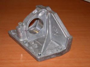 Support moteur - forgeage liquide aluminium- Teksid.