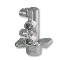 Maitre cylindre de frein aluminium en moulage coquille.