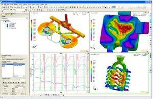Cartes thermiques en fonderie - simulation numérique.