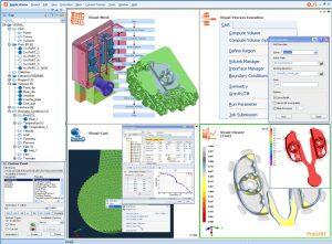 Visualisation des résultats - logiciel de simulation numérique.