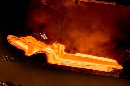 Matriçage à chaud des alliages de titane - pièce en TA6V.