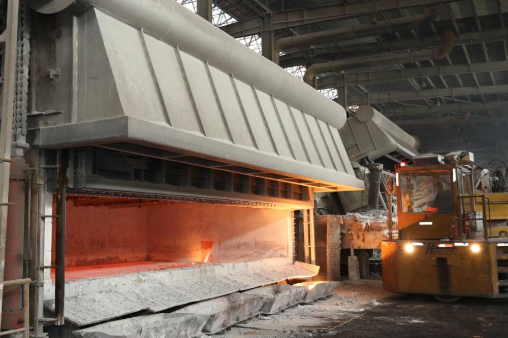 Refractaire de four aluminium de grande taille