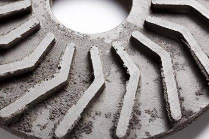 abreuvage en surface sur pièces en fonte