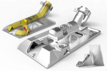 Design des pièces en fabrication additive métallique.