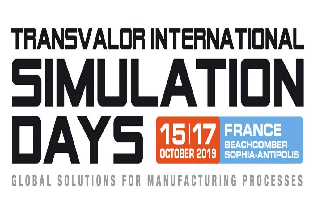 Transvalor simulation days octobre 2019.