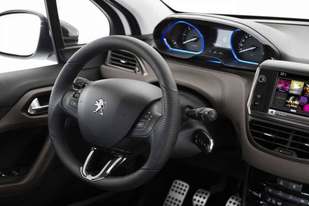 Volant automobile - Source PSA.